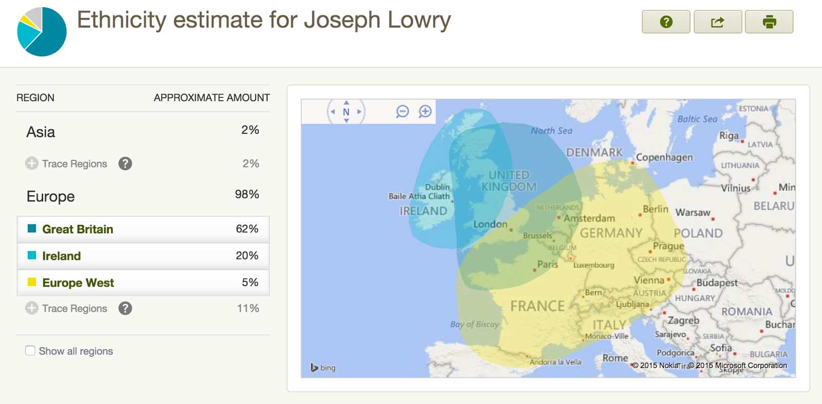 my ethnic matches from autosomal dna test click to enlarge